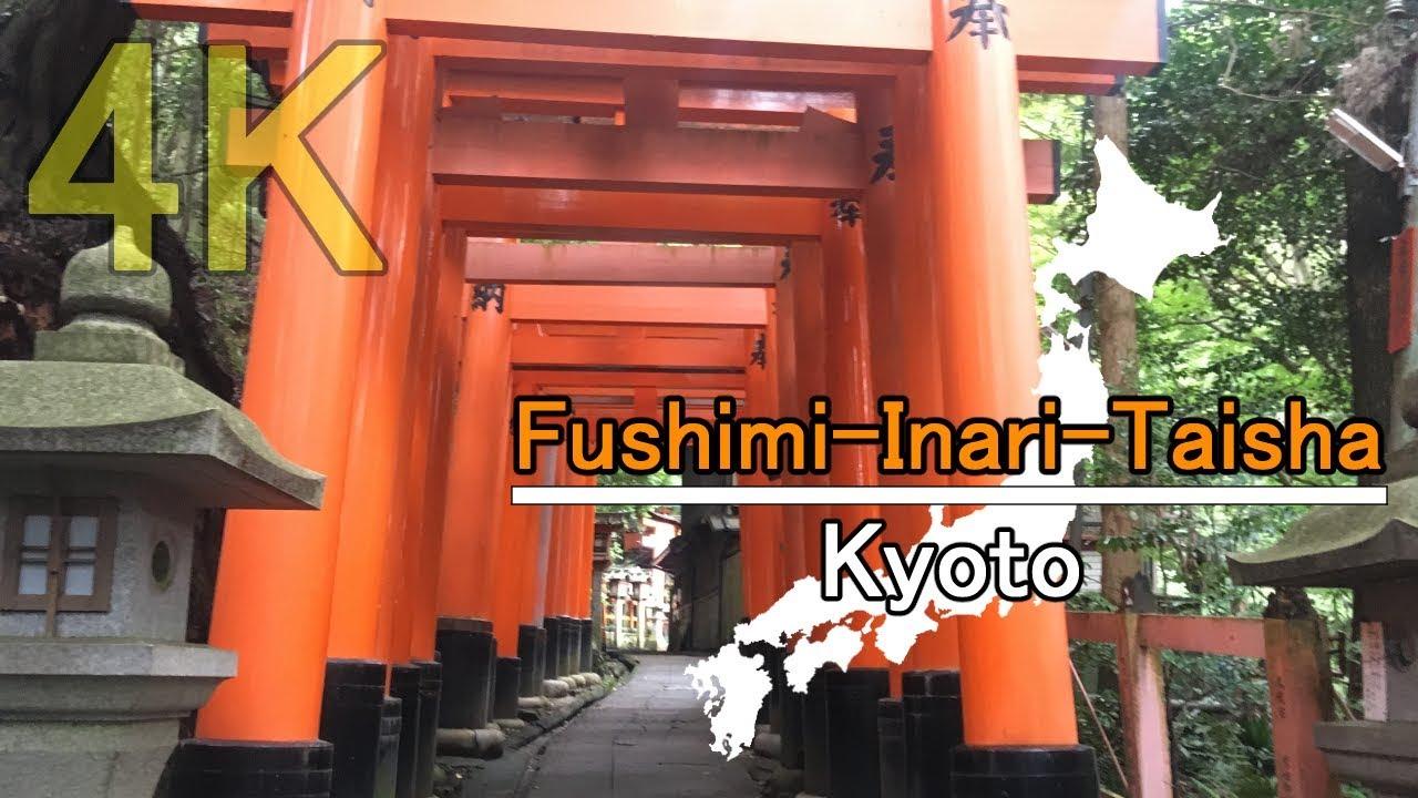 JAPAN Walking Tour in 4K | Fushimi-Inari-Taisha Shrine – Kyoto