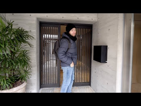 SLEEK Japanese STUDIO APARTMENT Tour + KYOTO STATION Area Guide | Kyoto, Japan