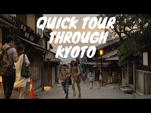 VLOG || Quick Tour Trough Kyoto!! Japanese Starbucks, Shrines and MORE!  ⛩️🚆👬 (ESP/日本語 Subtitles)