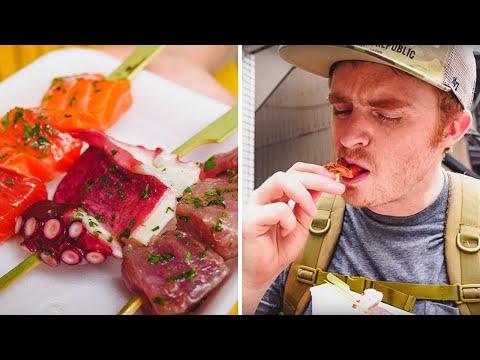 Kyoto Street Food | Tour of Nishiki Market (錦市場), Japan