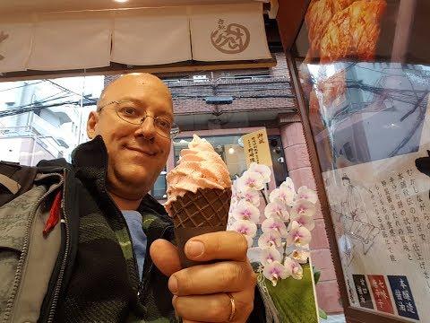 Nishiki Market FOOD TOUR in Kyoto Japan
