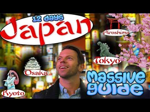 Japan first time – MASSIVE 2 WEEK GUIDE: A Swedish kamikaze