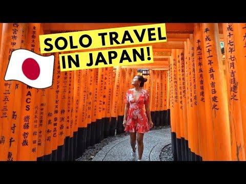 my SOLO TRAVEL experience in JAPAN! (Osaka & Kyoto)