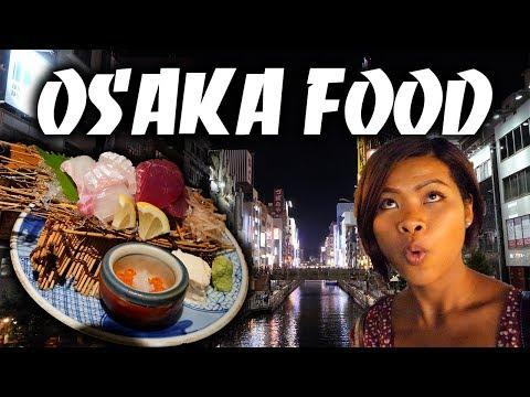 THIS IS JAPANESE SASHIMI – 1 Day Osaka & Kyoto Food Tour! กิน เที่ยว เกียวโต-โอซาก้า
