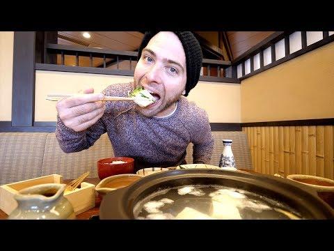 JAPANESE Tofu Hotpot FEAST + Kiyomizu-Dera Temple Tour | Kyoto, Japan