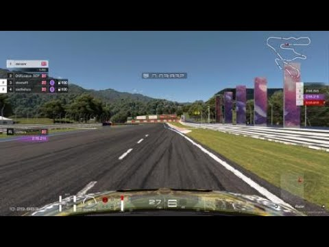 DGT LEAGUES race 8 guide KYOTO YAMAGIWA+MIYABI VW SUPERSPORT