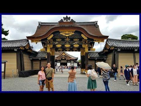 Kyoto Nijō Castle Tour | Taiwan-Japan Vlog 32