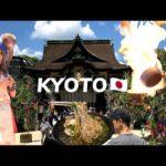 KYOTO JAPAN SUMMER TOUR 4K 🇯🇵[Ep 1] Digital Nomad Vlog #104