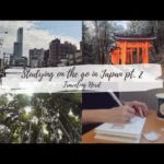 [PART 2] JAPAN | Kyoto & Osaka | Studying and Wandering | Traveling Nerd