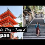 KYOTO Travel Vlog Day 2: Higashiyama & Downtown Kyoto Districts